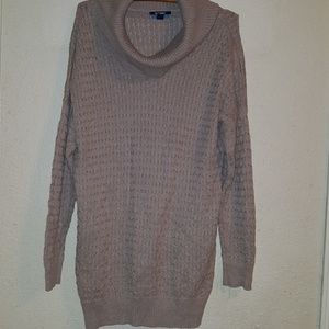Old Navy cowl neck maternity sweater